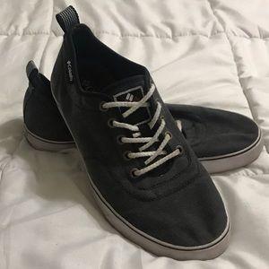 Columbia Grey Canvas Sneakers